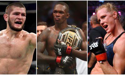 UFC Khabib Nurmagomedov Israel Adesanya Holly Holm MMA Frontkick.online
