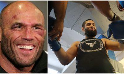 UFC legendaren Randy Couture Khamzat Chimaev UFC Frontkick Online