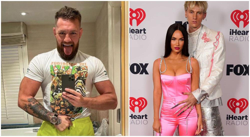 Conor McGregor Machine Gun Kelly Megan Fox UFC MMA Frontkick Online 1 utan pil