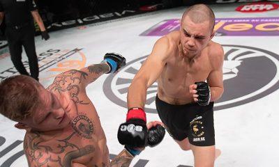 Adam Westlund Superior Challenge 23 Svensk MMA Frontkick Online