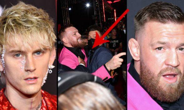 Conor McGregor Machine Gun kelly Dana White UFC MMA Frontkick Online