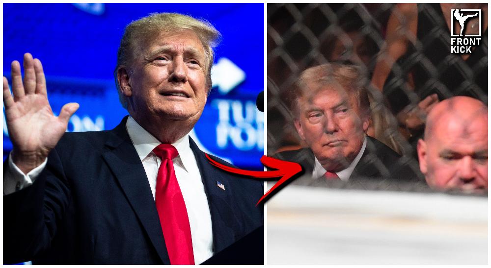 Donald Trump Triller Fight Club Frontkick.online