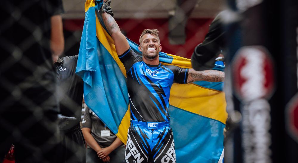 John Oldenqvist Svensk MMA World Cup Frontkick Online