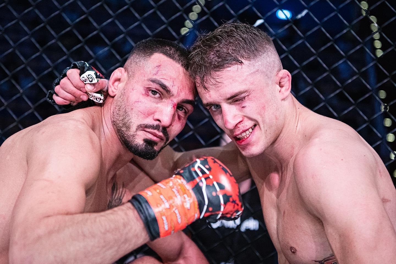Jonny Touma Zoran Milic FCR MMA Frontkick.online