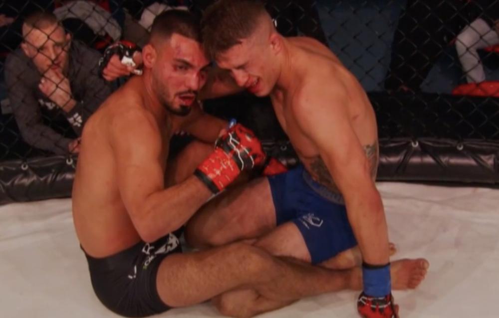 Jonny Touma Zoran Milic Resultat Frontkick Online Svensk MMA Fight Club Rush 9