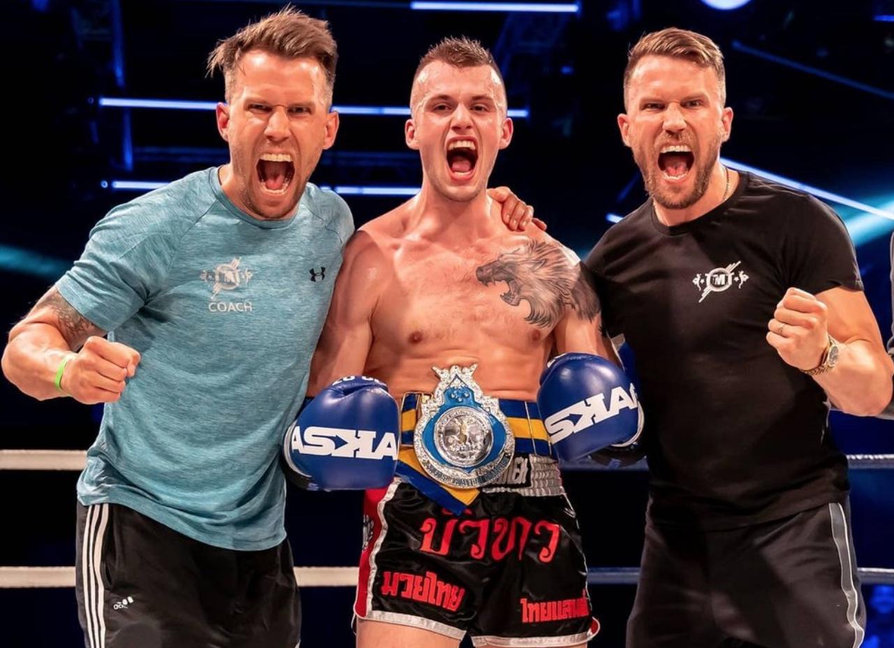 Jonte Larsson Muay Thai For Life Frontkick.online
