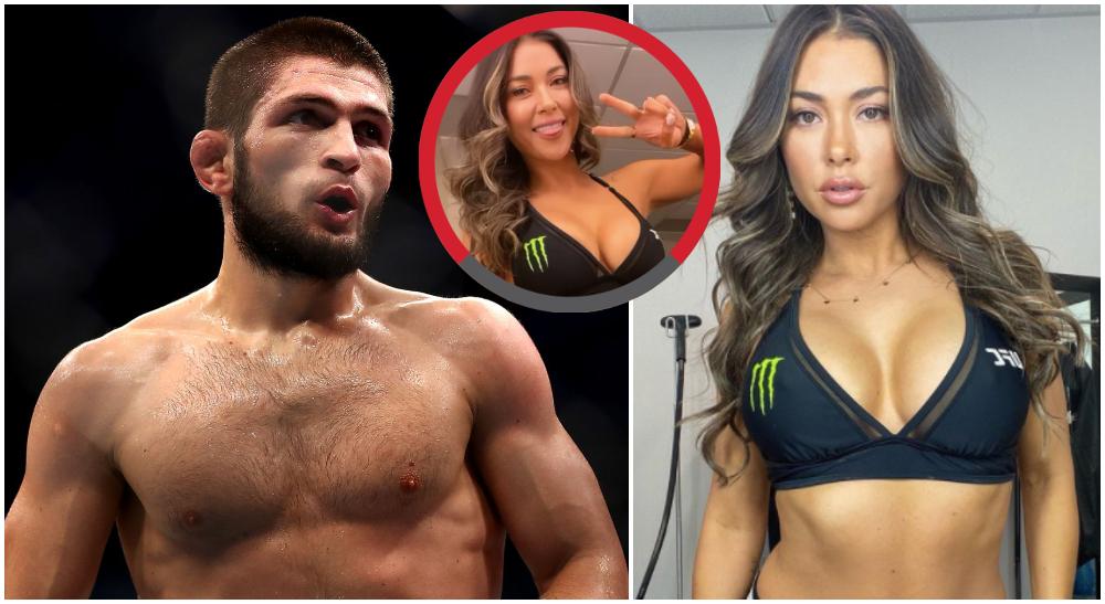 Khabib Nurmagomedov 2 Arianny Celeste UFC MMA Frontkick Online