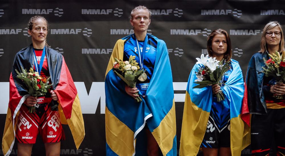Millie Eriksson MMA World Cup MMA-landslaget Frontkick Online