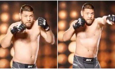Nick Diaz Comeback bilder UFC 266 Frontkick Online