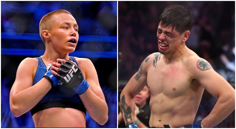 Rose Namajunas Brandon Moreno UFC Frontkick.online