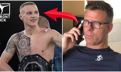 Tobias Harila Henri Hooft Svensk MMA Cage Warriors Frontkick Online