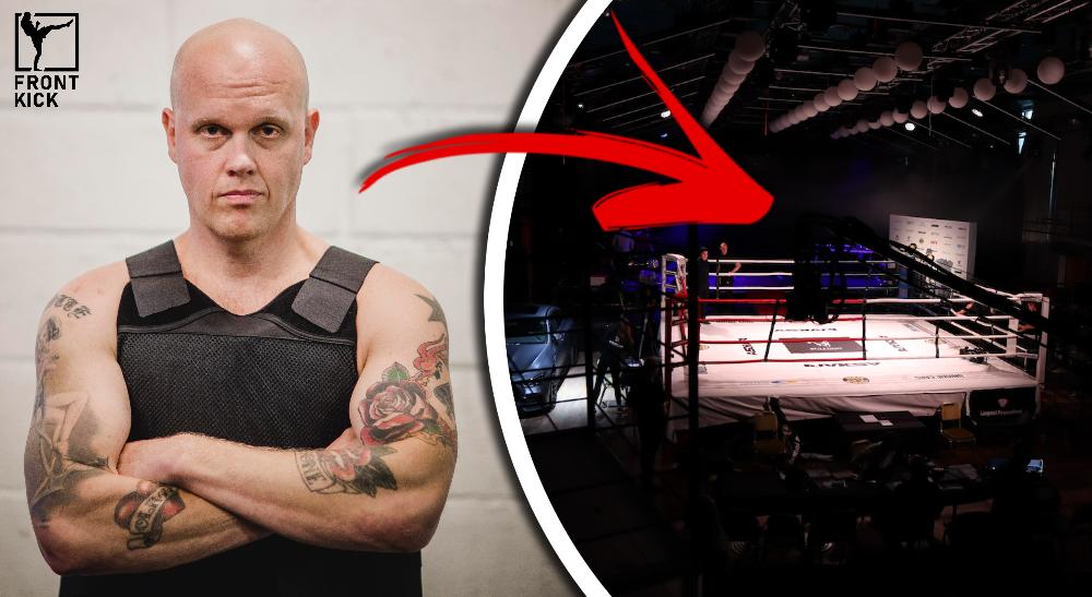 Joakim Lamotte Bulldog Fight Night 9 Frontkick.online