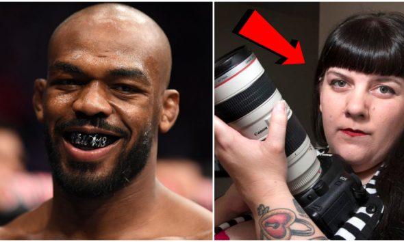 Jon Jones Amy kaplan UFC MMA Frontkick Online
