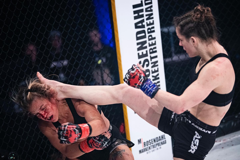 Josefine Thunder Lindgren Knutsson FCR MMA Frontkick.online