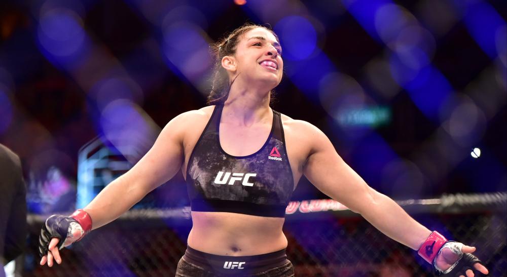 Mackenzie Dern UFC Fight Night Dern Rodriguez MMA Frontkick Online