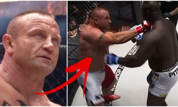 Mariusz Pudzianowski MMA Frontkick.online