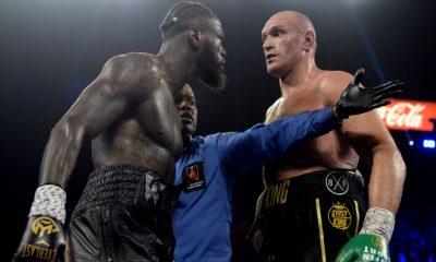 Tyson Fury Deontay Wilder 3 Boxning Frontkick Online