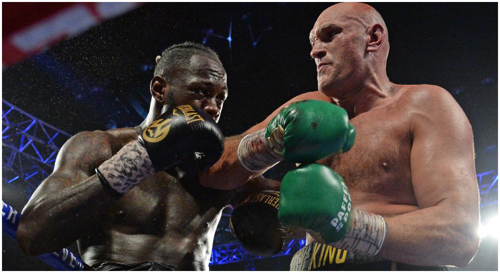 Tyson Fury Deontay Wilder UFC Frontkick.online